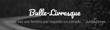 Bulle livresque blog litteraire