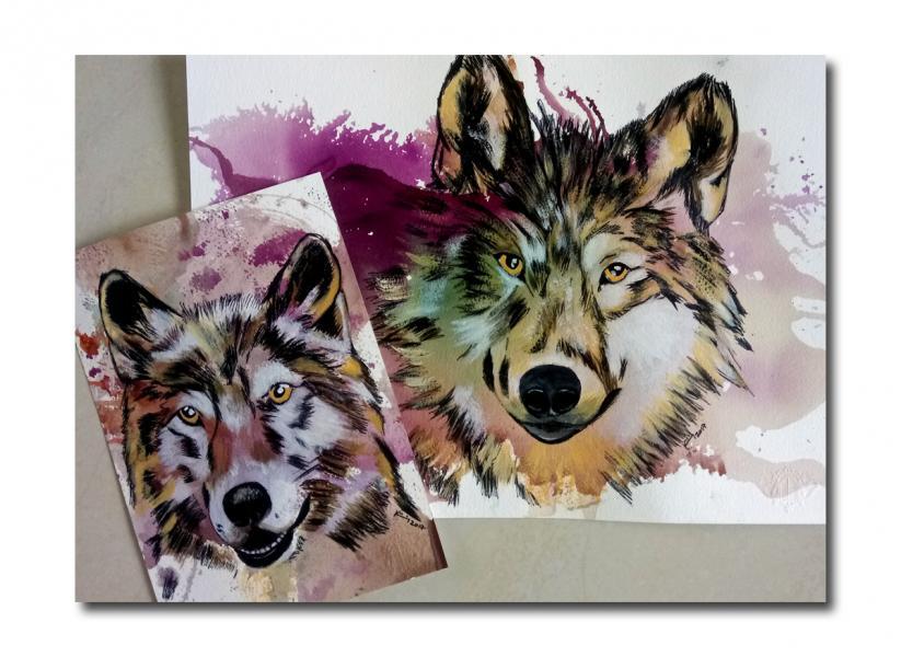 Deux loups challenge ecriture