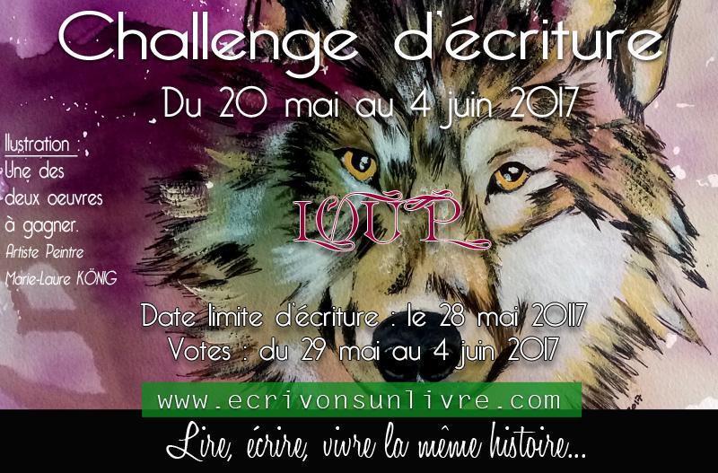 Loup challenge ecriture