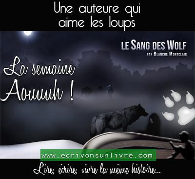 Une auteure qui aime les loups 1